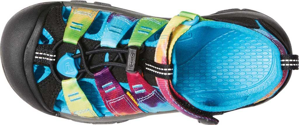 Children's KEEN Newport H2 Sandal, Rainbow Tie Dye, large, image 3