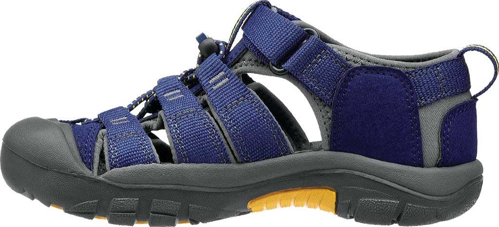 Children's KEEN Newport H2 Sandal, Blue Depths/Gargoyle, large, image 3