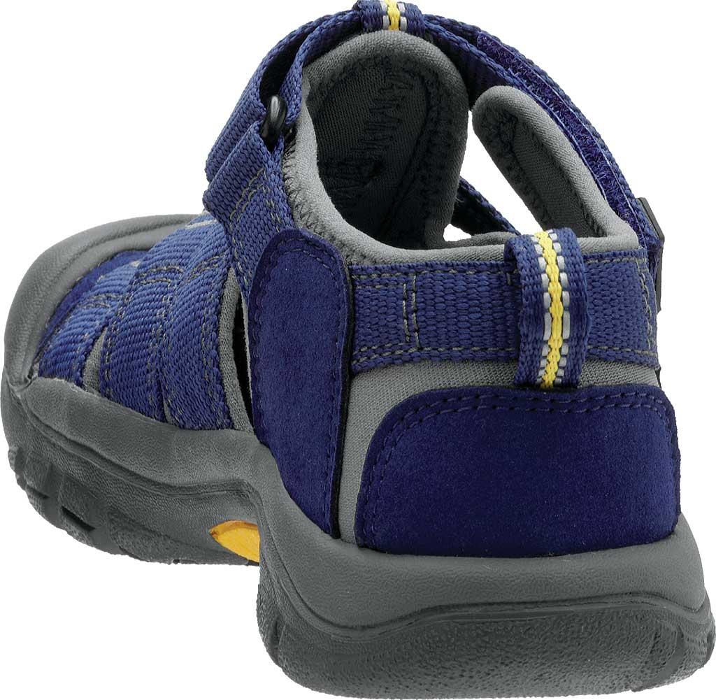Children's KEEN Newport H2 Sandal, Blue Depths/Gargoyle, large, image 4