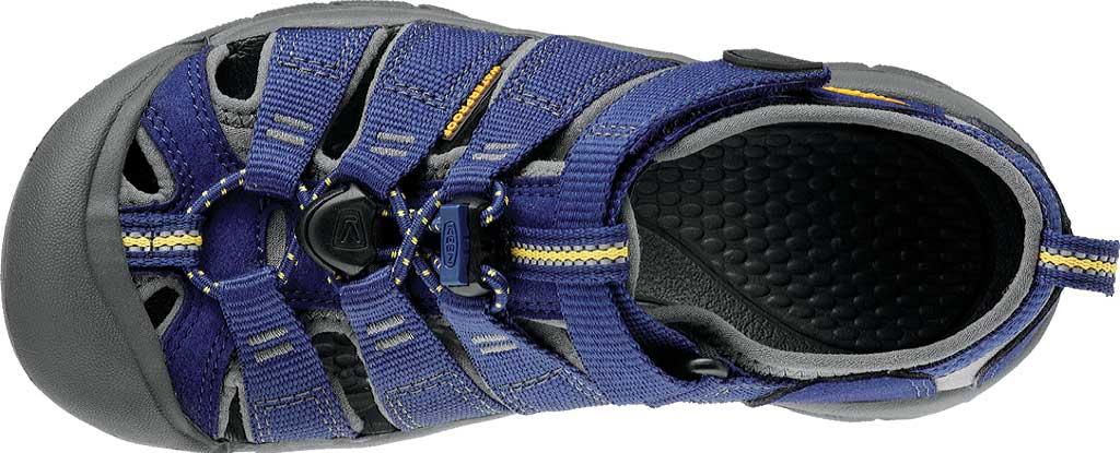 Children's KEEN Newport H2 Sandal, Blue Depths/Gargoyle, large, image 5