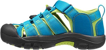 Children's Keen Newport H2 Sandal, Hawaiian Blue/Green Glow, large, image 3