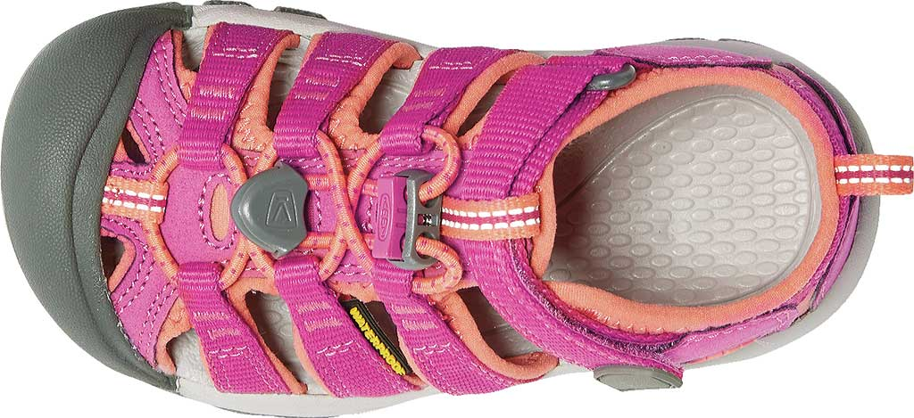 Children's KEEN Newport H2 Sandal, Very Berry/Fusion Coral, large, image 5