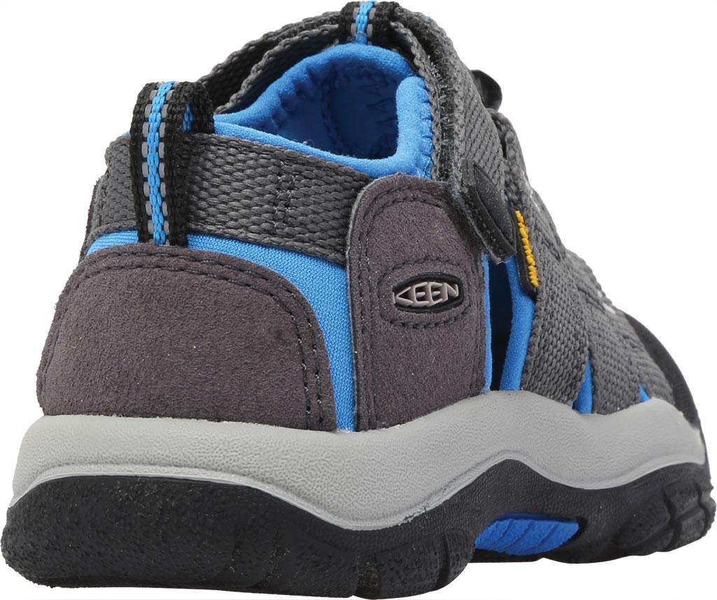 Children's Keen Newport H2 Sandal, Magnet/Brilliant Blue, large, image 4