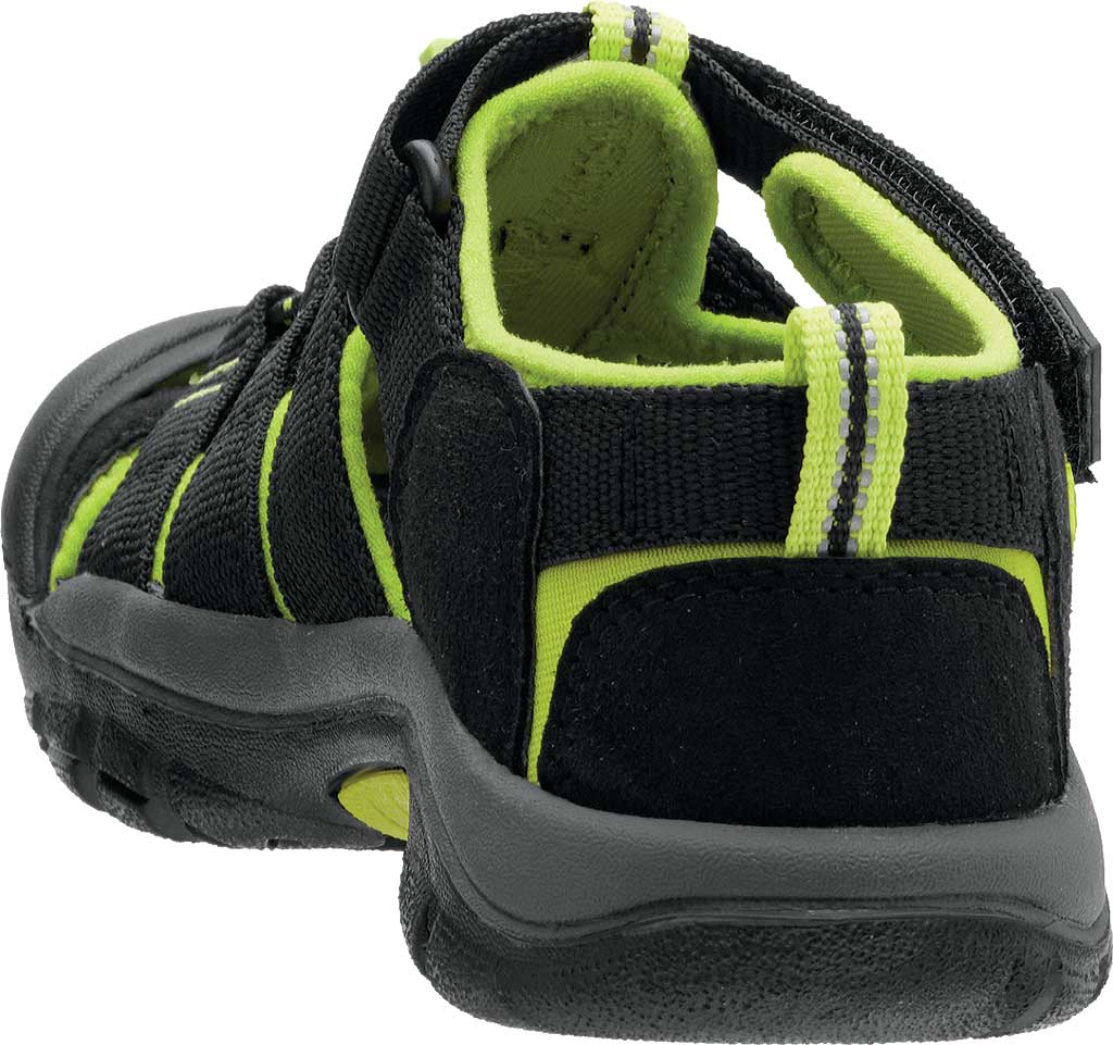 Infant Keen Newport H2 Sandal, Black/Lime Green, large, image 4