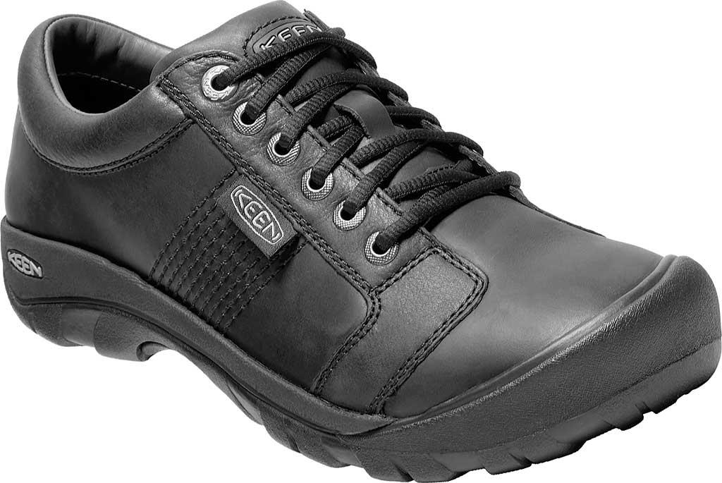 Men's KEEN Austin Shoe, Black, large, image 1