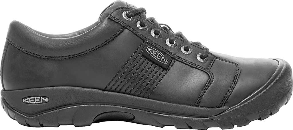 Men's KEEN Austin Shoe, Black, large, image 2