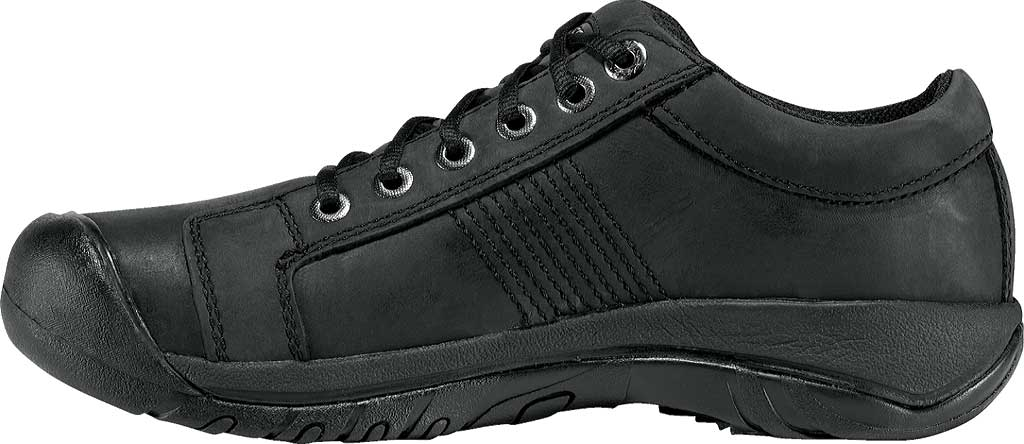 Men's KEEN Austin Shoe, Black, large, image 3