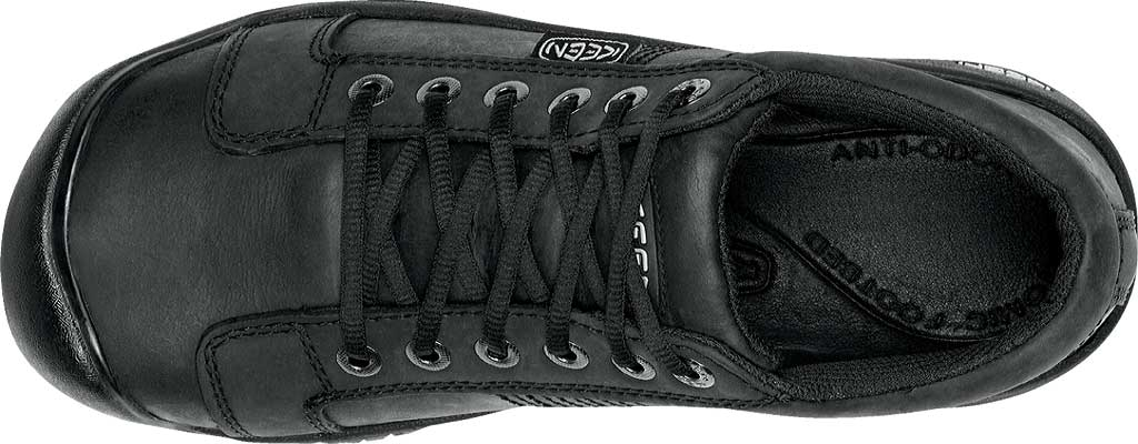 Men's KEEN Austin Shoe, Black, large, image 6