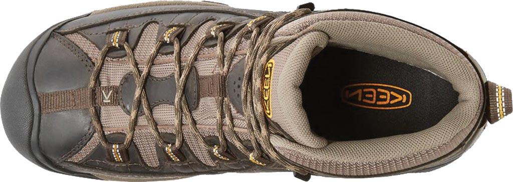 Men's Keen Targhee II Mid Hiking Boot, Black Olive/Yellow, large, image 3