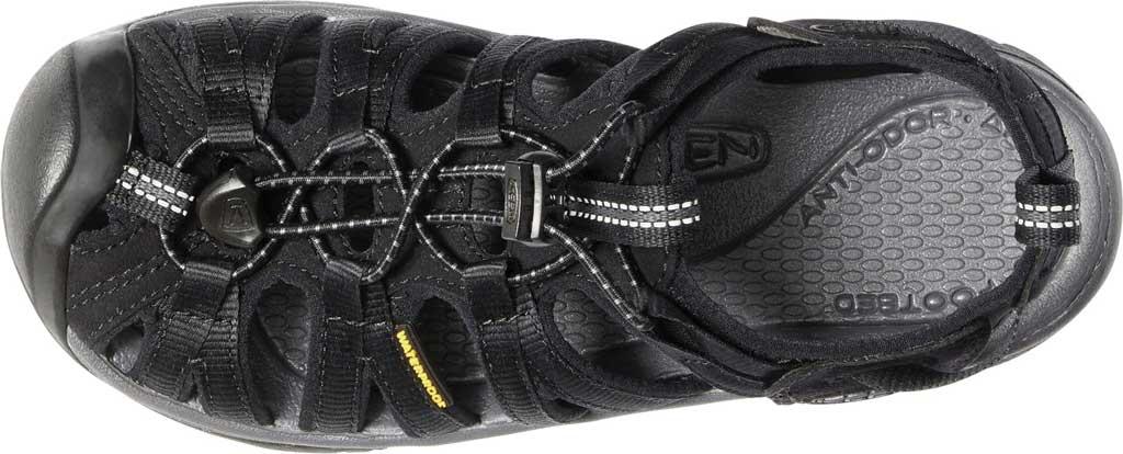 Women's KEEN Whisper Sandal, Black/Magnet, large, image 3