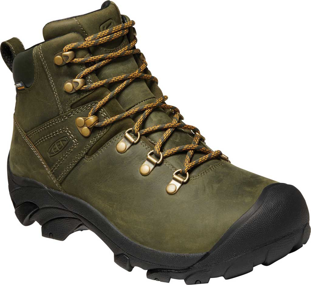 Men's KEEN Pyrenees, Forest Night/Black, large, image 1