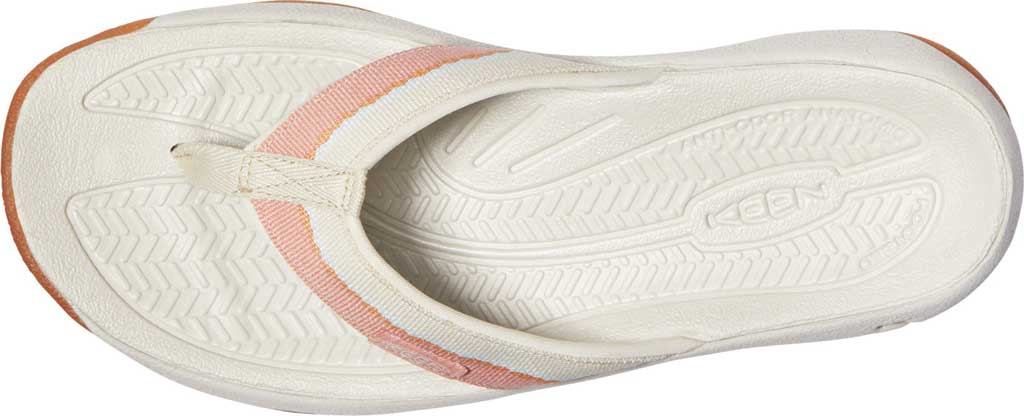 Women's KEEN Kona Flip, Brick Dust/Birch, large, image 3