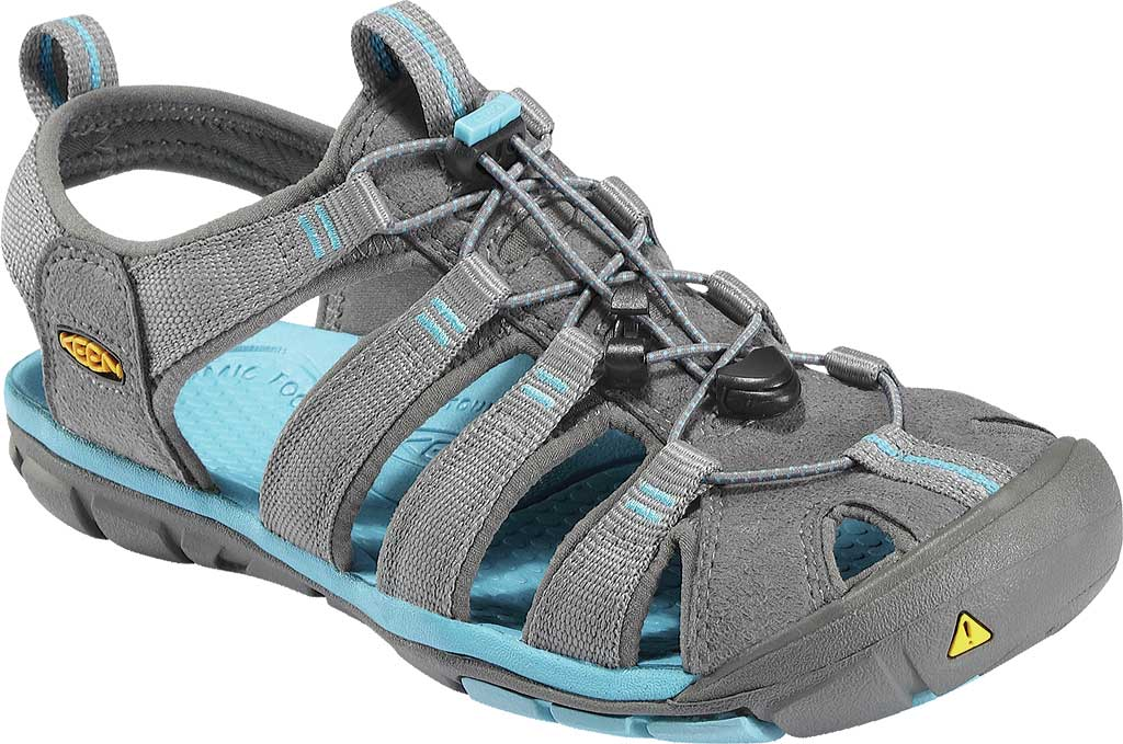 Women's KEEN Clearwater CNX, Gargoyle/Norse Blue, large, image 1