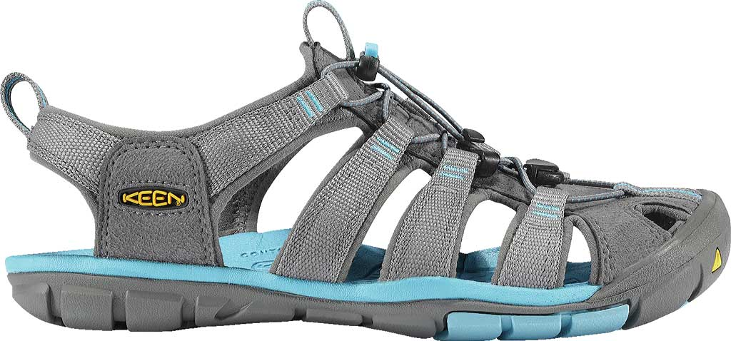 Women's KEEN Clearwater CNX, Gargoyle/Norse Blue, large, image 2
