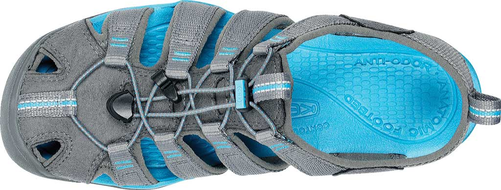 Women's KEEN Clearwater CNX, Gargoyle/Norse Blue, large, image 5