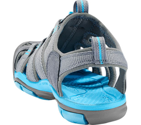 Women's KEEN Clearwater CNX, Gargoyle/Norse Blue, large, image 4