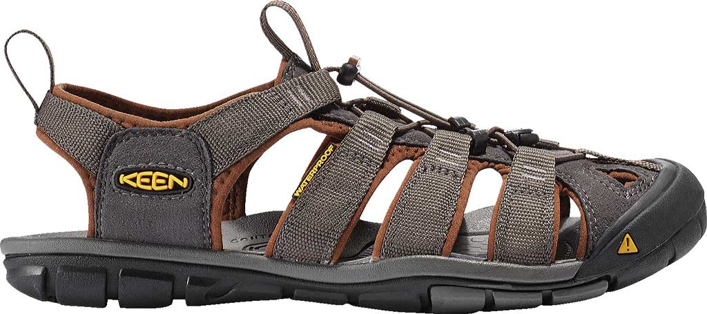 Men's KEEN Clearwater CNX, Raven/Tortoise Shell, large, image 2