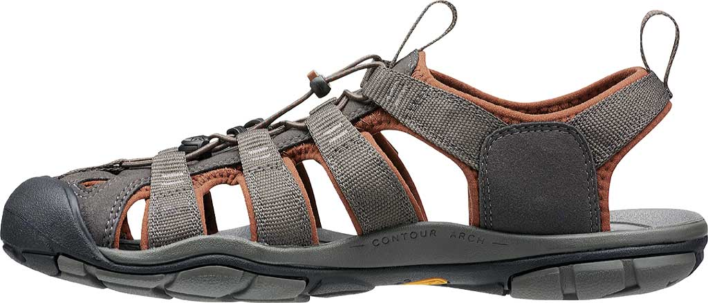 Men's KEEN Clearwater CNX, Raven/Tortoise Shell, large, image 3