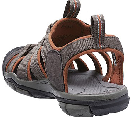 Men's KEEN Clearwater CNX, Raven/Tortoise Shell, large, image 4