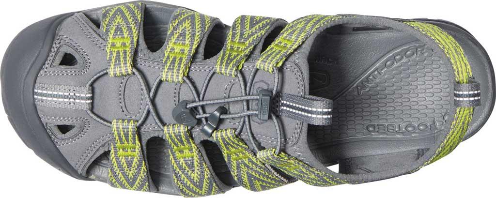 Men's KEEN Clearwater CNX, Steel Grey/Evening Primrose, large, image 3