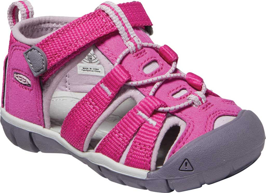 Infant KEEN Seacamp II CNX, Very Berry/Dawn Pink, large, image 1