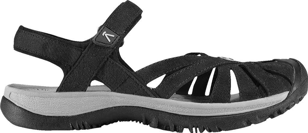 Women's Keen Rose Sandal, Black/Neutral Gray, large, image 2