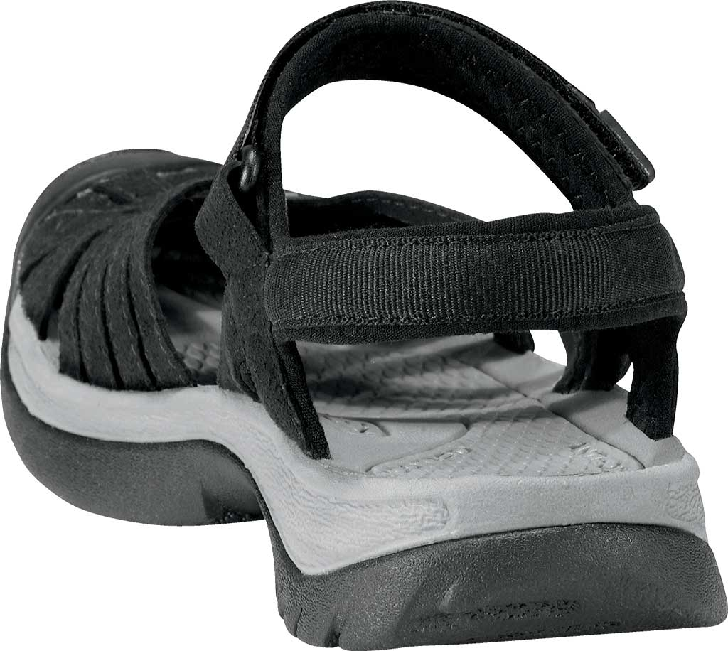 Women's Keen Rose Sandal, Black/Neutral Gray, large, image 4