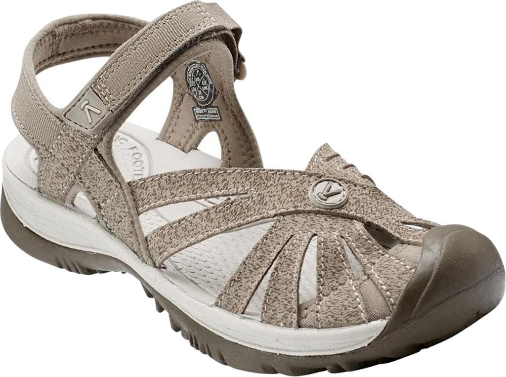 Women's KEEN Rose Sandal, Brindle/Shitake, large, image 1