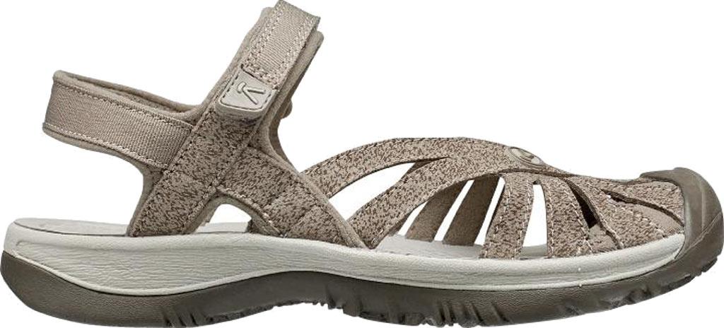Women's KEEN Rose Sandal, Brindle/Shitake, large, image 2
