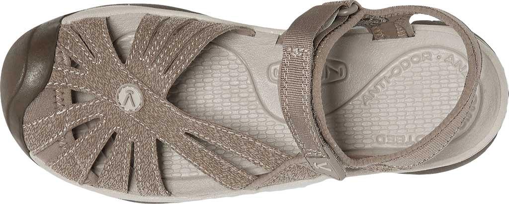 Women's KEEN Rose Sandal, Brindle/Shitake, large, image 3