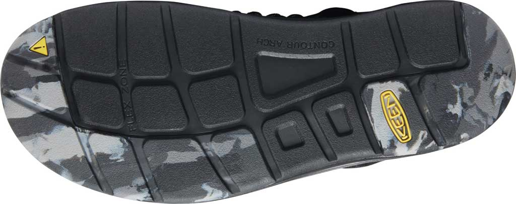 Men's Keen UNEEK Sandal, Glo Black, large, image 4