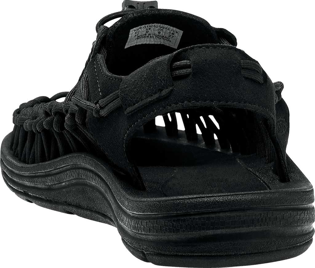 Women's KEEN UNEEK Sandal, Black/Black, large, image 4
