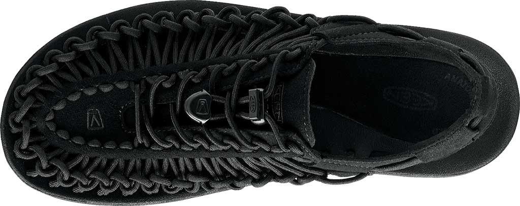 Women's KEEN Uneek Active Sandal, Black/Black, large, image 5