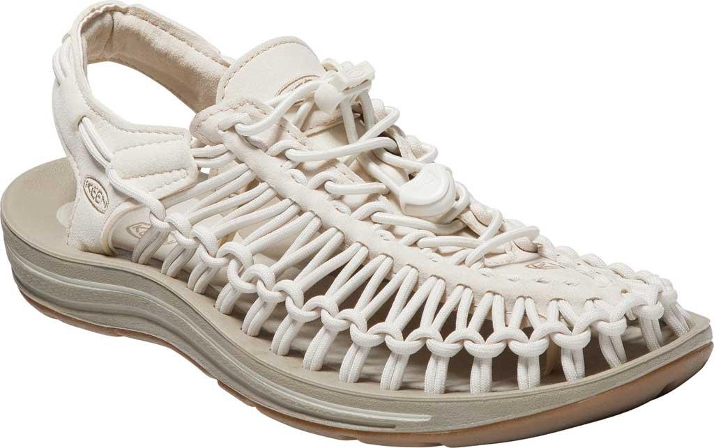 Women's Keen UNEEK Sandal, Whitecap/Cornstalk, large, image 1