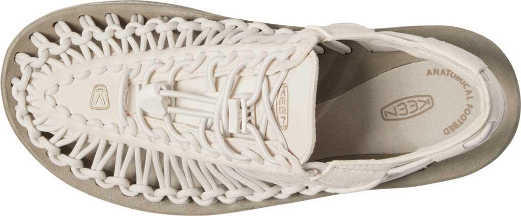 Women's Keen UNEEK Sandal, Whitecap/Cornstalk, large, image 3