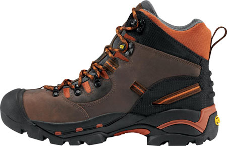 Men's KEEN Utility Pittsburgh Soft Toe Boot, Cascade/Bombay Brown, large, image 3