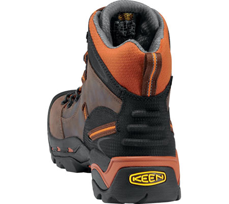 Men's KEEN Utility Pittsburgh Soft Toe Boot, Cascade/Bombay Brown, large, image 4