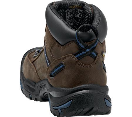 Men's KEEN Utility Braddock Mid All Leather Steel Toe Boot, Bison/Ensign Blue, large, image 4