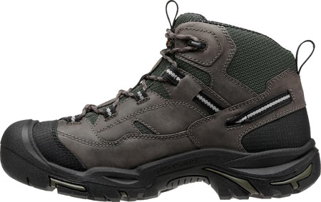 Men's KEEN Utility Braddock Mid Steel Toe Boot, Gargoyle/Forest Night, large, image 3