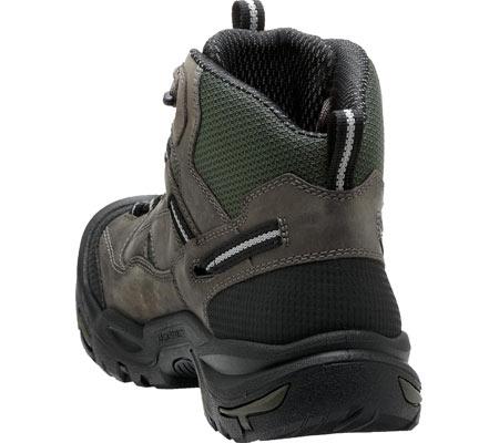 Men's KEEN Utility Braddock Mid Steel Toe Boot, Gargoyle/Forest Night, large, image 4