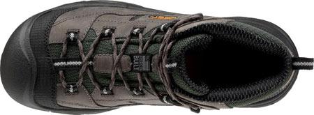 Men's KEEN Utility Braddock Mid Steel Toe Boot, Gargoyle/Forest Night, large, image 5