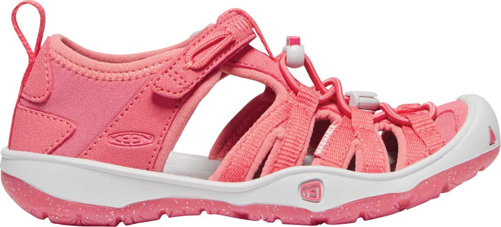 Children's KEEN Moxie Closed Toe Sandal - Little Kid, Tea Rose/Vapor, large, image 2