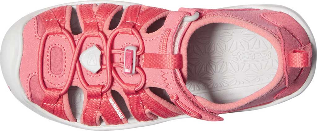 Children's KEEN Moxie Closed Toe Sandal - Little Kid, Tea Rose/Vapor, large, image 3