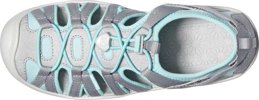 Children's Keen Moxie Closed Toe Sandal - Big Kid, Blue Tint/Vapor, large, image 3