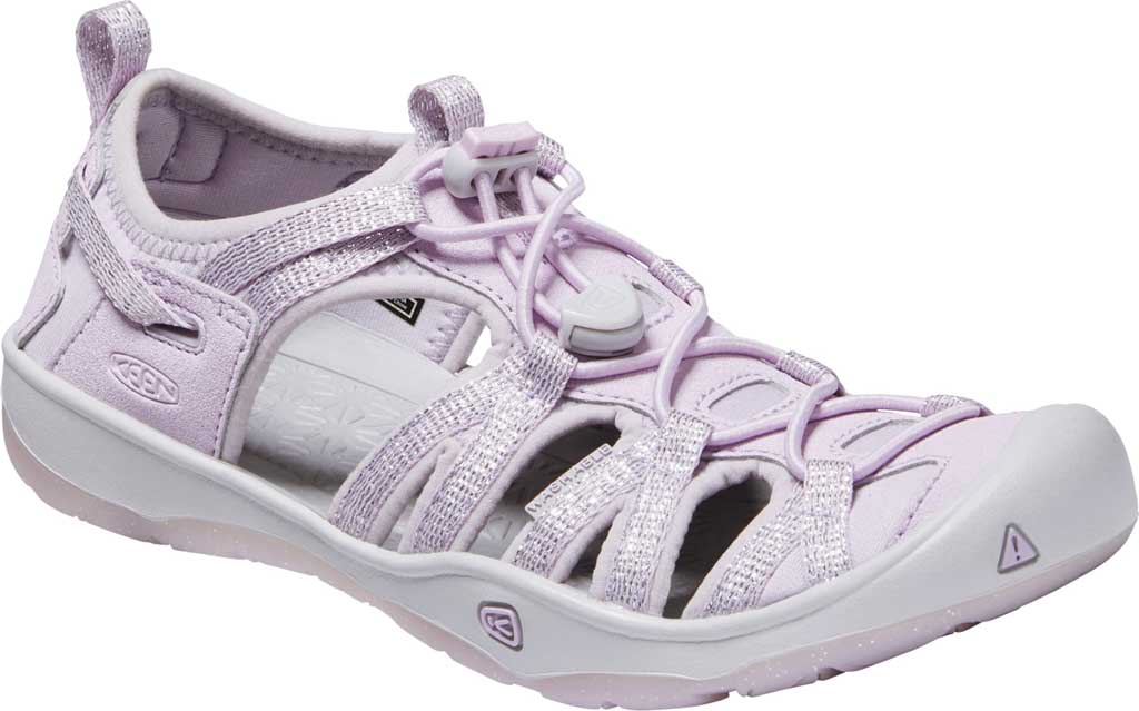 Children's Keen Moxie Closed Toe Sandal - Big Kid, Lavender Fog/Metallic, large, image 1