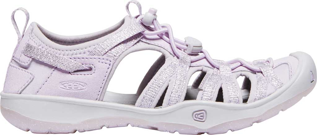 Children's Keen Moxie Closed Toe Sandal - Big Kid, Lavender Fog/Metallic, large, image 2
