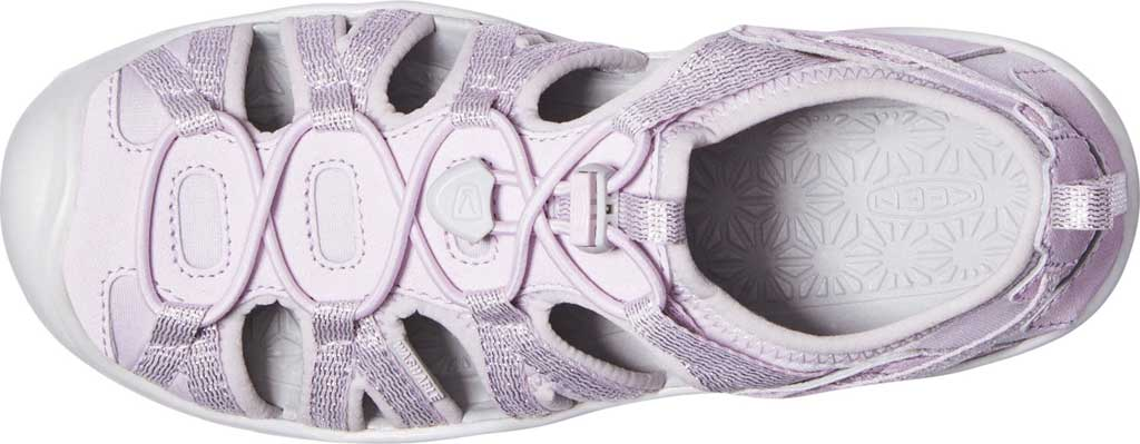 Children's Keen Moxie Closed Toe Sandal - Big Kid, Lavender Fog/Metallic, large, image 3