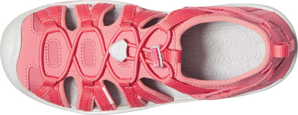 Children's KEEN Moxie Closed Toe Sandal - Big Kid, Tea Rose/Vapor, large, image 3