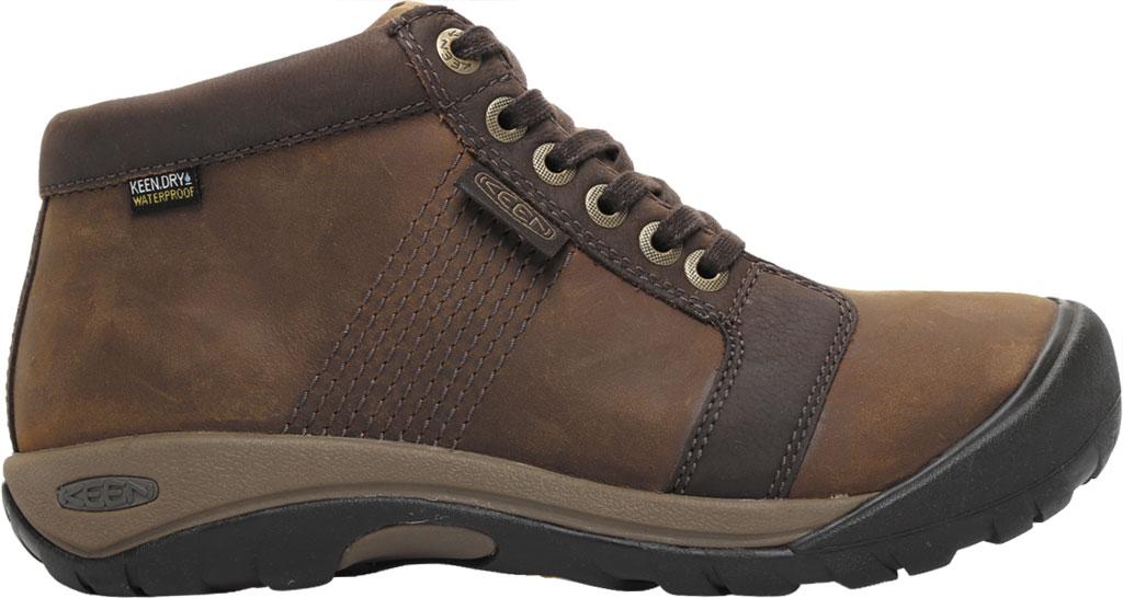 Men's Keen Austin Mid Waterproof Sneaker, Chocolate Brown, large, image 2
