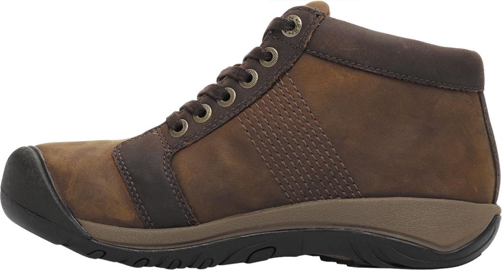 Men's Keen Austin Mid Waterproof Sneaker, Chocolate Brown, large, image 3